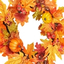 Artificial Autumn Foliage Wreath (40cm) **FREE UK MAINLAND DELIVERY**