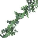 Artificial Eucalyptus Spiral Garland (180cm) Lifelike Foliage & Durable **FREE UK MAINLAND DELIVERY**