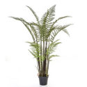 Artificial Tall Fern Tree 115cm - Superior Realism + Premium Quality **FREE UK MAINLAND DELIVERY**