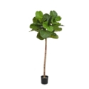 Artificial Fiddle Leaf Tree - Single Stem - 170cm - Natural Trunk | Expertly Handcrafted **FREE UK MAINLAND DELIVERY**