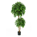 Artificial Ficus Fig Tree 'Natasha Tropical' Luxurious Quality + Highly Realistic **FREE UK MAINLAND DELIVERY**