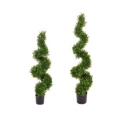 Artificial Topiary Buxus Spiral **FREE UK MAINLAND DELIVERY**