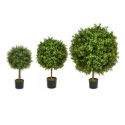 Artificial Topiary Buxus Short Ball Tree **FREE UK MAINLAND DELIVERY**