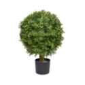 Artificial Topiary Short Buxus Ball Tree with UV Protectors **FREE UK MAINLAND DELIVERY**