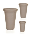 Classic Tower Planter in 'Mocca' for Artificial Trees **FREE UK MAINLAND DELIVERY**